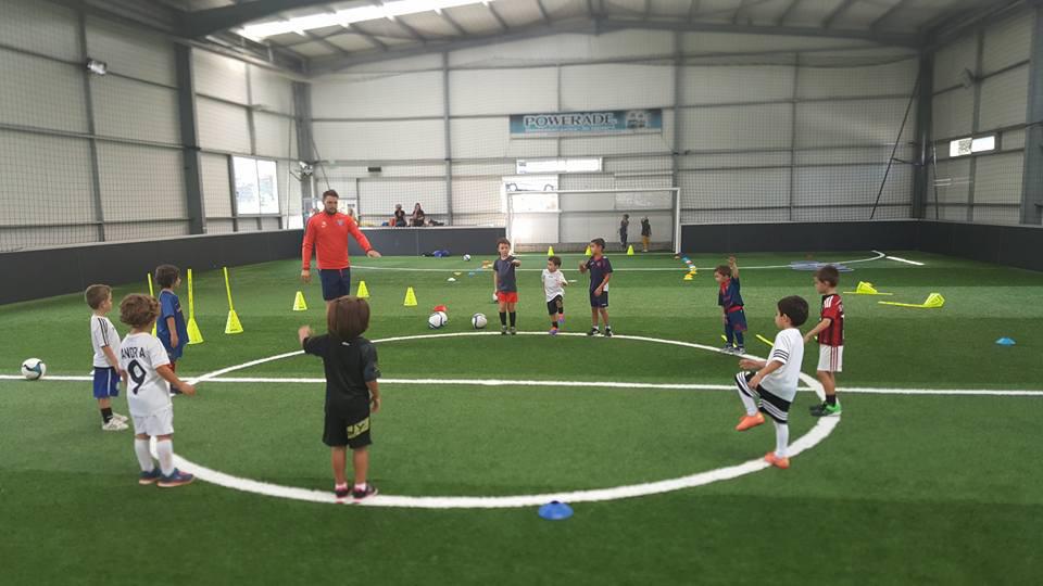 école de foot - le fun